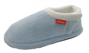 Archline Orthotic Slippers Closed Baby Blue