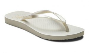 Vionic Beach NOOSA TOE POST SANDAL Pearl white