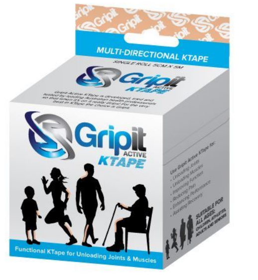 Grip It Ktape Tan